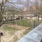 Ausblick überdachter Balkon